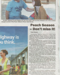 Lisa Dennis reviews The Peach Season in The Castlemaine Mail 6 May 16